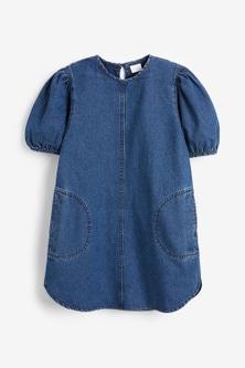 Next Puffed Sleeve Dress (3-16yrs)