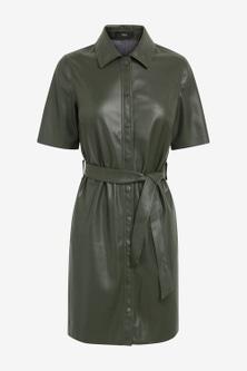 Next Faux Leather Dress