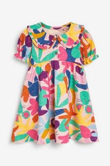 Next Organic Jersey Collar Dress (3mths-7yrs)