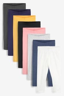 Next 8 pack GOTS Organic Leggings (3mths-7yrs)