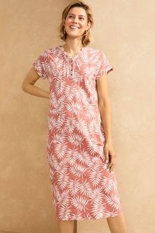 Capture Cotton Slub Dress