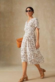 Grace Hill Wrap Dress