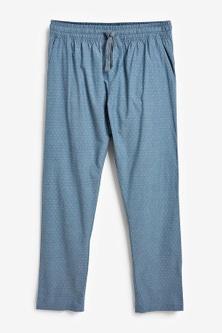 Next Lightweight Woven Pyjama Bottoms Two Pack