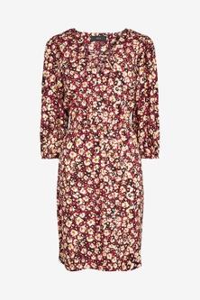 Next Lace-Up Mini Dress