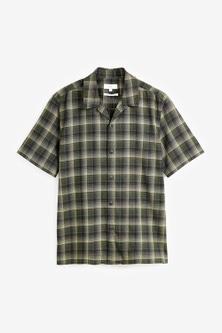 Next Check Short Sleeve Shirt