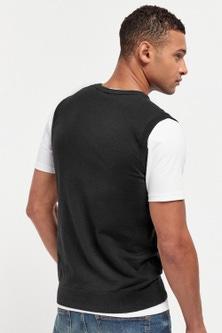 Next Knitted Tank & T-Shirt Set