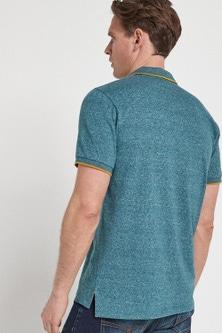 Next Marl Soft Touch Poloshirt