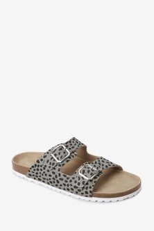 Next Forever Comfore Double Strap Footbed Mules