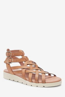 Next Forever Comfort  Slotted Wedge Sandals