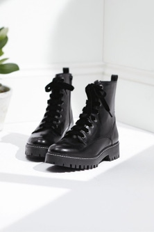 Next Forever Comfort Leather Lace-Up Boots-Wide Fit