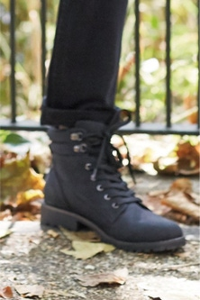 Next Forever Comfort Casual Lace-Up Boots-Wide Fit
