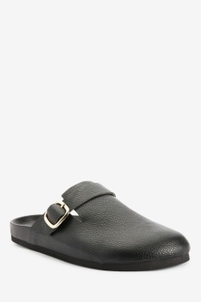 Next Forever Comfort  Closed Toe Footbed Mules