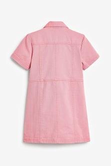 Next Fitted Denim Dress (3-16yrs)