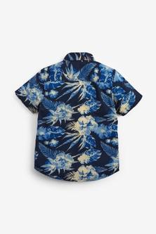 Next Patterned Shirt And T-Shirt Set (3-16yrs)