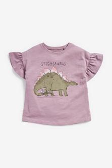 Next Dino Dress, T-Shirt And Leggings Five Piece Set (3mths-7yrs)