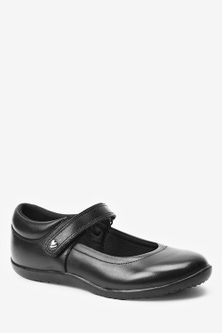 Next Leather Junior Mary Jane Shoes (Older)