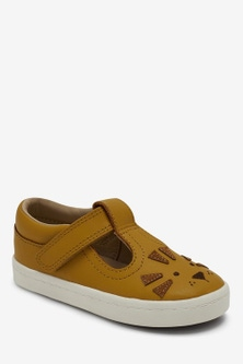Next Leather T-Bar Shoes (Younger)