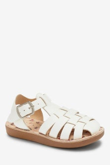 Next Little Luxee Leather Fisherman Sandals (Younger)