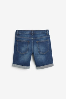 Next Denim Shorts (3-16yrs)-Regular Fit