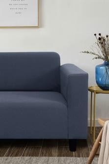 Sherwood Home Jacquard Easy Stretch 4 Seater Sofa Cover