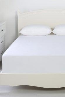 Dreamaker Reversible Cotton Waterproof Mattress Protector