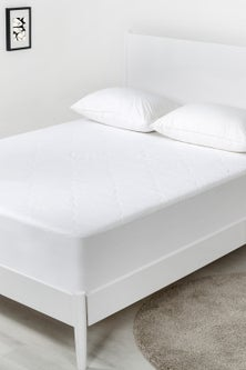 Dreamaker Quilted Cotton Filled Mattress Protector