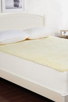 Dreamaker 300GSM Wool Fleece Mattress Underlay