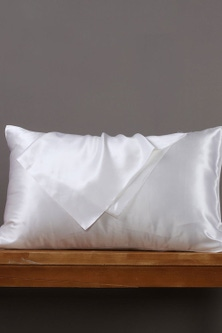 Natural Home Luxe Mulberry Silk Pillowcase