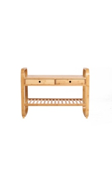 Sherwood Home Seated Shoe Storage Rack and Organiser with Bench
