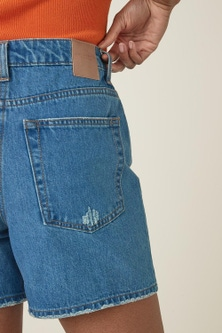 Next Non-Stretch Denim Shorts