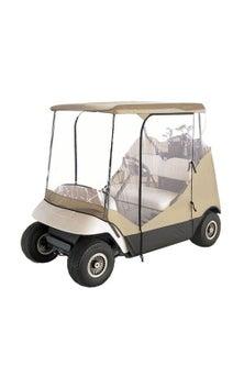 2 Seater Golf Cart Enclosure Waterproof Cover Buggy