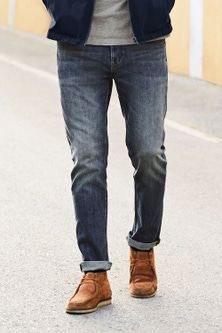 Next Jeans With Stretch-Bootcut Fit