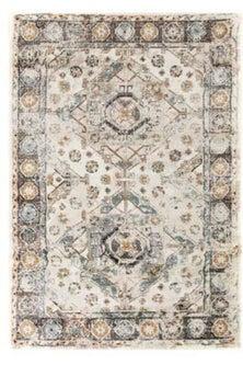 Raffia Traditional Rug - Diamond Pattern