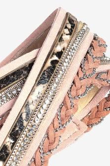 Next Multi Layer Wrap Bracelet