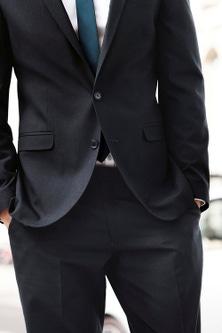 Next Regular Fit Suit Trousers