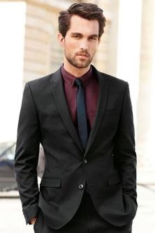 Next Slim Fit Suit Jacket