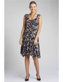 Capture Ruched Dress