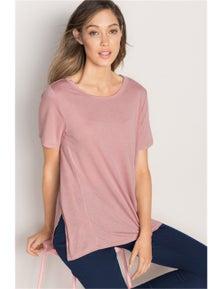 Emerge Side Split T-Shirt