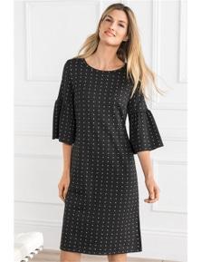 Grace Hill Ruffle Dress