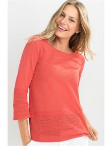 Capture Summer Knit top