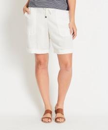 Katies Patch Pocket Linen Shorts