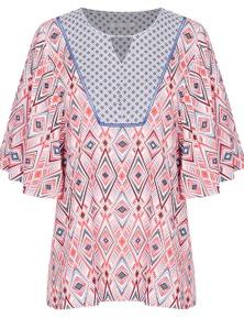 Katies Kimono Sleeve Kaftan Top