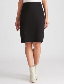 Katies Seamed Ponte Skirt