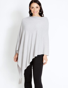 Katies Poncho With Tassel