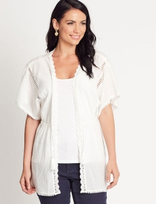 Katies Lace Trim Cover-Up