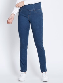 Katies Full Length Skinny Shape And Curve Denim Jeans