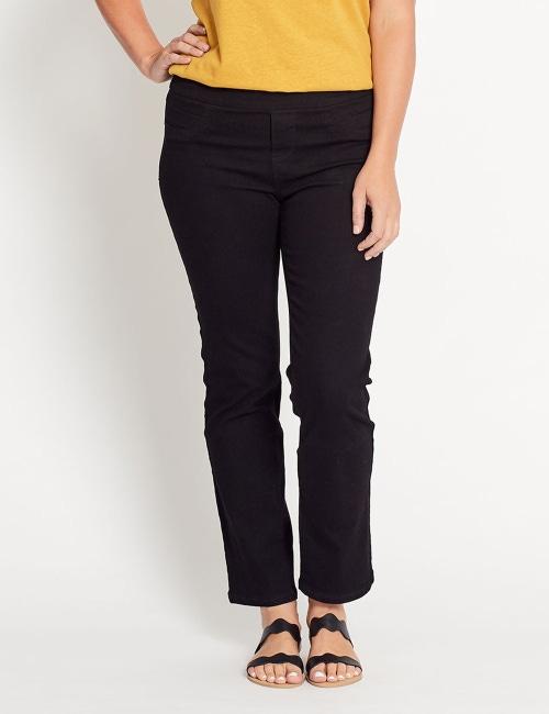 buy online bf180 2fd0c Katies Short Straight Leg… Full Length Ultimate Denim Jeans