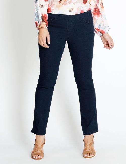 a21fe9159e5eb Katies Short Straight Leg Full Length Ultimate Denim Jeans