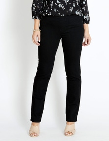 Katies Long Straight Leg Ultimate Denim Jeans