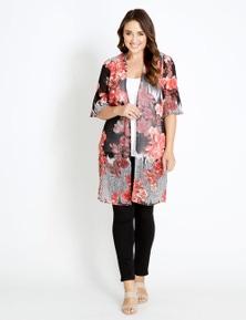 Katies Neck Panel Kimono